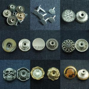 Custom Brass Buttons Vintage Denim Fasteners pictures & photos