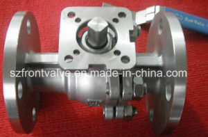 Stainless Steel Flanged End 2PC Ball Valve pictures & photos