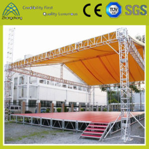Adjustable Activity Performance Aluminium Plywood Stage for Events on Sale pictures & photos