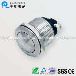 19mm 1no Resetable Round IP65 Ik08 Push Button Switch pictures & photos