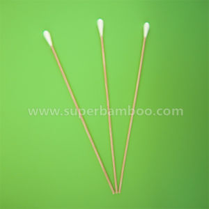 7′ Bamboo Stick Cotton Swab for Medical/Industry Use (B251807)