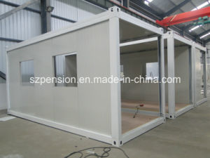 Low Cost Folding a-Level Fireproof Mobile Prefabricated/Prefab House Container House for Hot Sale pictures & photos