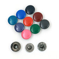 Custom Colorful Four Parts Metal Press Snap Button Jewelry pictures & photos