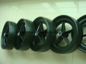12 Inch Flat Free PU Foam Wheel for Golf Cart pictures & photos