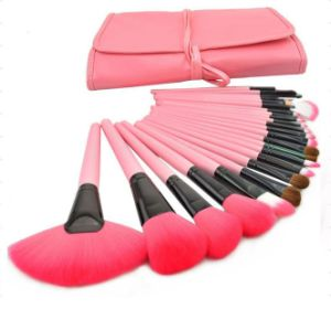 Good Quality Makeup Brush Set with Pouch pictures & photos