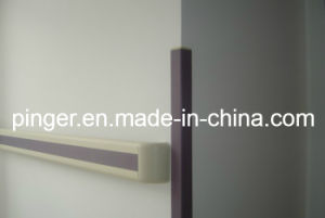 Anti-Bacterial PVC Wall Corner Guard for Hospital pictures & photos