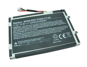 battery for DELL Alienware M11X M14X R1 R2 Battery 0W3vx3 08p6X6 PT6V8 pictures & photos