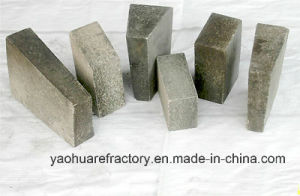 Unburned High Alumina Brick for Electric Furnace Roofs pictures & photos
