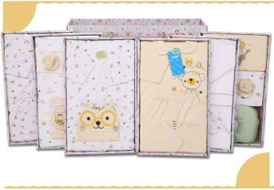 23PCS Baby Cotton Clothes Set for New Born Baby with Fashionable Gift Box pictures & photos