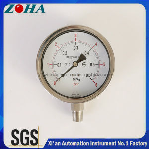 All Stainless Steel Manometers Hot Selling in Korea Market Pass Ks Certificate pictures & photos