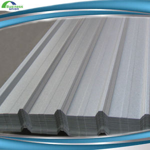 Long Span Colored Zinc Aluminium Trapezium Heat Proof Roof Sheet (RT-017) pictures & photos