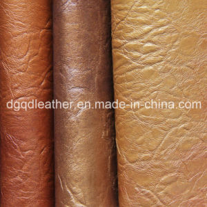 Scratch Resistant Sofa Leather Qdl-50245 pictures & photos