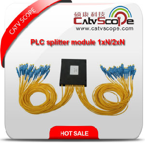 PLC Optical Coupler Splitter Module 1xn/2xn