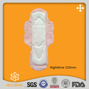 Nighttime 320mm Standard Sanitary Napkins /Sanitary Pads /Sanitary Towels pictures & photos