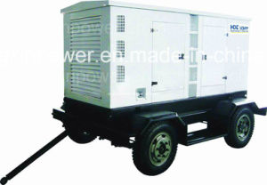 Mobile Deutz Silent Generator Set with CE (GF2-80KW) pictures & photos