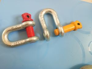 Us Type Drop Forged G-210 D Shackle pictures & photos