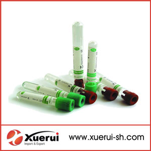 Disposable Plastic Heparin Blood Collection Test Tube pictures & photos