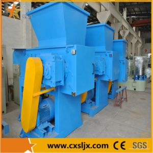 Waste Plastic Recycling Single Shaft Shredder pictures & photos