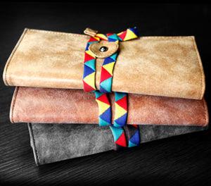 Fashion Design Grind Arenaceous Wallet pictures & photos