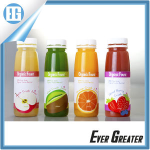 2016 High Quality Custom Self-Adhesive Juice Bottle Label pictures & photos