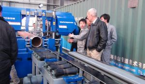 Pipe Prefabrication Automatic Cutting Machine pictures & photos
