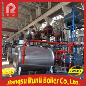 The Assembled Oil or Gas Fuel Thermal Oil Boiler pictures & photos