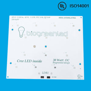 LED Aluminum 2.0mm 1oz 1.0W/M. L PCB Board pictures & photos