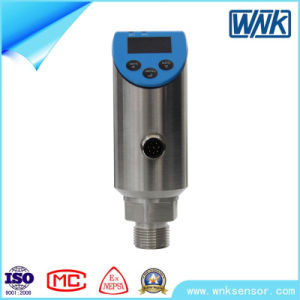 Stainless Steel Electronic Pressure Switch with Measuring Range -0.1~0.1MPa to 60MPa pictures & photos