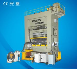 Ce 6000kn Closed Frame Twin Rod Digital Controlled Press Machine pictures & photos