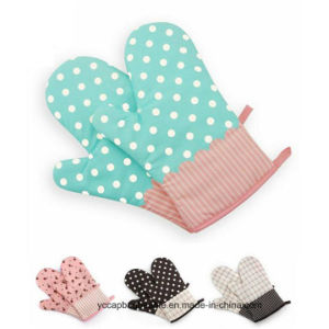 Funy Candy Color Cotton Oven Glove pictures & photos