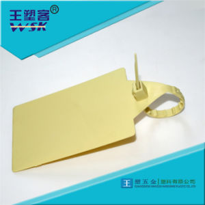 Guangzhou Factory Patent Product Plastic Security Seal of Shipping Company Courier Bag Wsk-Bc260L pictures & photos