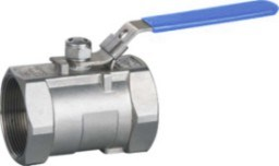 1000 Wog 1 PC Stainless Steel Ball Valve