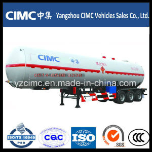 Heavy Duty 3 Axles LPG Tank Semi Trailer pictures & photos