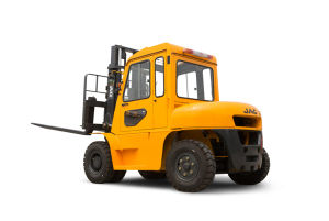 JAC 5 Ton Truck/Forklift with Cabin pictures & photos