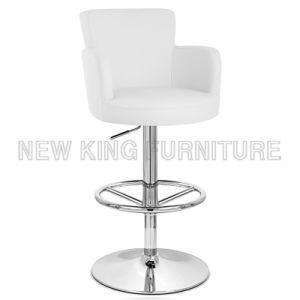 Hot Sale Modern Bar Shop Furniture PU Leather Bar Chair (NK-BC013) pictures & photos
