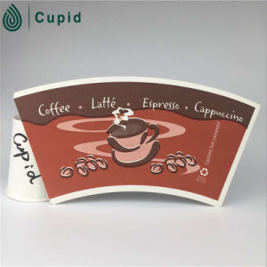Hztl Custom Printed PE Coated Paper Cup Fan pictures & photos