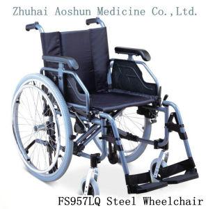 Fs957lq Steel Wheelchair Metal Chair pictures & photos