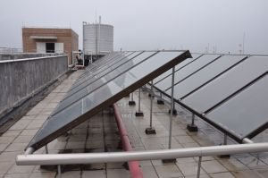 Non Pressurized Flat Plate Solar Water Heater pictures & photos