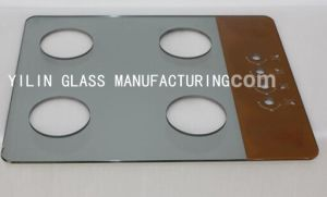 Colorful Printing Tempered Cooktop Glass pictures & photos
