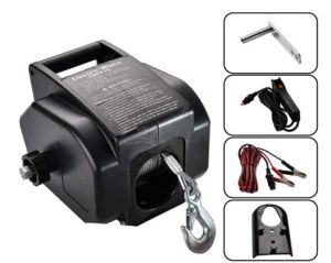 Portable Electric Winch 1t P2000-2A 12V