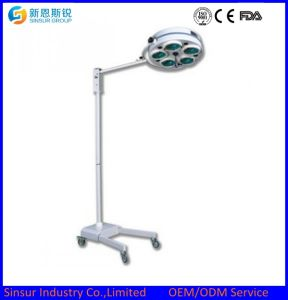 China Cost Hospital Standby Shadowless Halogen Operating Room Lights pictures & photos