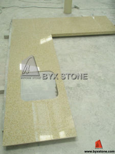 White Artificial Quartz Stone for Countertop, Wall & Floor Tiles pictures & photos