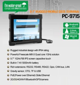 Android Touchscreen Wall Tablet Poe Panel PC for Industrial Control pictures & photos