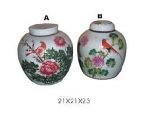 Chinese Antique Painted Porcelain Bottle pictures & photos