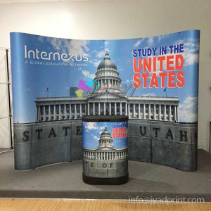 Trade Show Combo 3X4 POP up Banner + Counter Display pictures & photos
