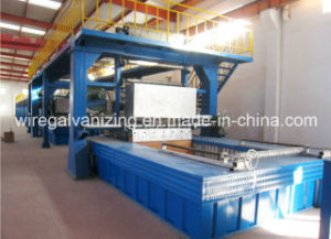 Steel Wire Galfan Hot DIP Galvanizing Production Line pictures & photos