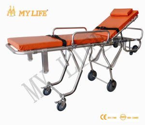 Full Automatical Stretcher Witn Varied Position Medical Stretcher Ambulance Stretcher (TD010131-D)