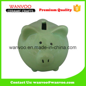Glazed Ceramic Piggy Box for Decoration pictures & photos