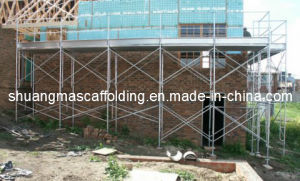 Hot DIP Gavalnized Frame Scaffolding for Constrution Project pictures & photos