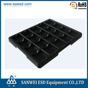 Conductive PCB Tray with Partition (3W-9805127) pictures & photos
